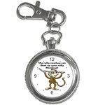 Rally Monkey Key Chain Watch