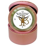 Rally Monkey Jewelry Case Clock