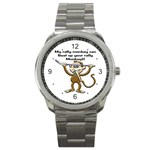 Rally Monkey Sport Metal Watch