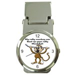 Rally Monkey Money Clip Watch