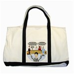 Jersey Devils Two Tone Tote Bag