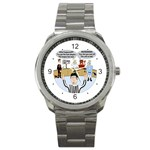 Jersey Devils Sport Metal Watch