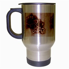 swine mug Travel Mug (Silver Gray) by mugart