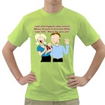 Lil Avs Fan Green T-Shirt