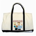 Lil Avs Fan Two Tone Tote Bag