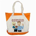 Lil Avs Fan Accent Tote Bag
