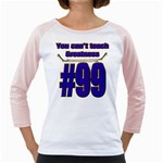 You Can t Teach Greatness Girly Raglan