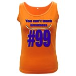 You Can t Teach Greatness Women s Dark Tank Top