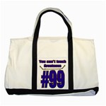 You Can t Teach Greatness Two Tone Tote Bag