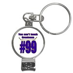 You Can t Teach Greatness Nail Clippers Key Chain