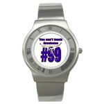 You Can t Teach Greatness Stainless Steel Watch