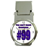 You Can t Teach Greatness Money Clip Watch