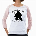Professional Theif Girly Raglan