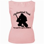 Professional Theif Women s Pink Tank Top