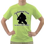 Professional Theif Green T-Shirt