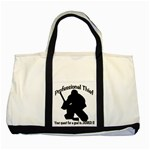 Professional Theif Two Tone Tote Bag