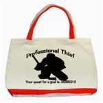Professional Theif Classic Tote Bag (Red)