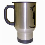 Professional Theif Travel Mug (Silver Gray)
