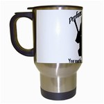 Professional Theif Travel Mug (White)