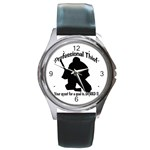 Professional Theif Round Metal Watch