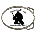 Professional Theif Belt Buckle