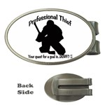 Professional Theif Money Clip (Oval)