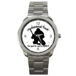 Professional Theif Sport Metal Watch
