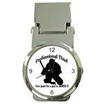 Professional Theif Money Clip Watch