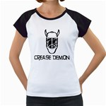 Crease Demon Women s Cap Sleeve T
