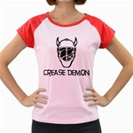 Crease Demon Women s Cap Sleeve T-Shirt