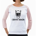 Crease Demon Girly Raglan