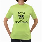 Crease Demon Women s Green T-Shirt