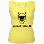 Crease Demon Women s Yellow Tank Top