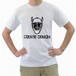 Crease Demon White T-Shirt