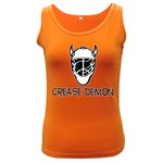 Crease Demon Women s Dark Tank Top
