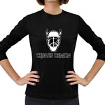 Crease Demon Women s Long Sleeve Dark T-Shirt