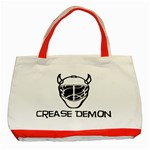 Crease Demon Classic Tote Bag (Red)