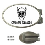 Crease Demon Money Clip (Oval)
