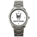 Crease Demon Sport Metal Watch