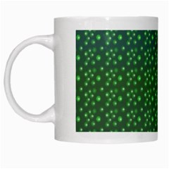 green dots mug Mug by mugart