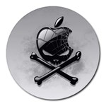 Hackintosh_Wallpaper_v4_by_Jonzy Round Mousepad