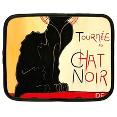 Tournee Du Chat Noir Netbook Case (Large)	 from CowCow.com Front
