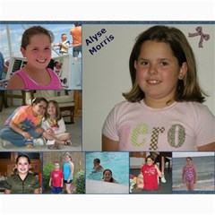 Hiawassee, Grandkids Collage By Leanna 10 x8  Print - 2
