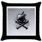 Hackintosh Throw Pillow Case (Black)