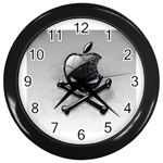 Hackintosh Wall Clock (Black)