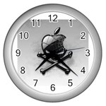 Hackintosh Wall Clock (Silver)