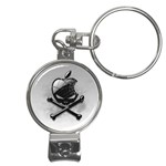 Hackintosh Nail Clippers Key Chain