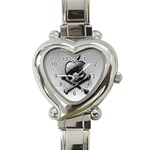 Hackintosh Heart Italian Charm Watch