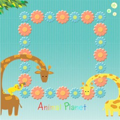 Animal Planet By Suweeriya   Scrapbook Page 12  X 12    3egm14wgn4r0   Www Artscow Com 12 x12  Scrapbook Page - 2