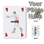 Punch!  - Playing Cards 54 Designs